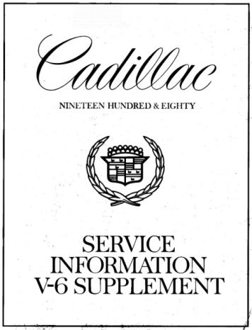 Taylor Automotive Tech-Line Cadillac Shop Manuals