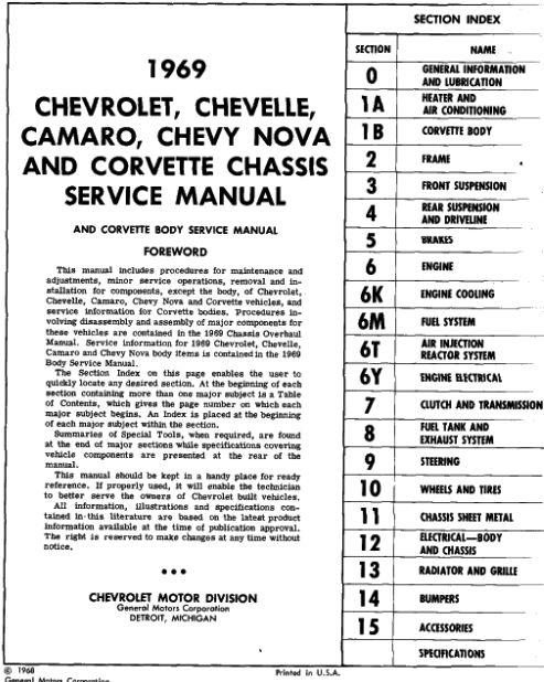 Taylor Automotive Tech-Line Chevrolet Car Shop Manuals on CD