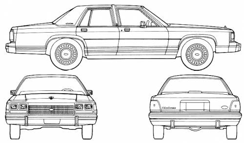 Taylor Automotive Tech-Line 1990 Ford LTD Crown Victoria