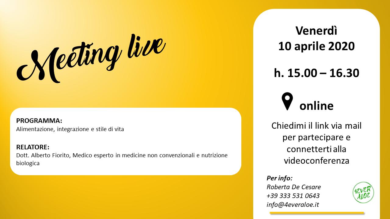 meeting live