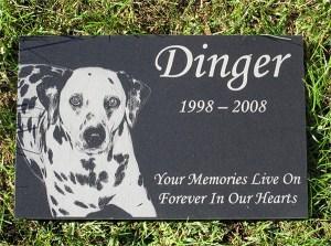 Personalized Pet Dog Human Stone Memorial Engraved Marker Granite 4 x 7 cat horse Bird Dog Human grave stone Labrador Golden Retriever