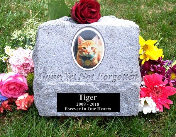 Outdoor Color Photographic Pet Urn