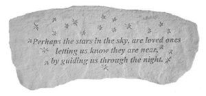 Garden Bench – Perhaps the stars in the sky