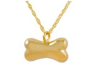 Gold Bone Pendant