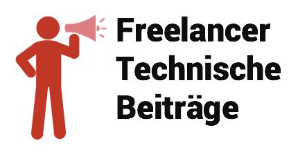 Freelancer Technische Beiträge