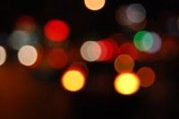 Round night lights