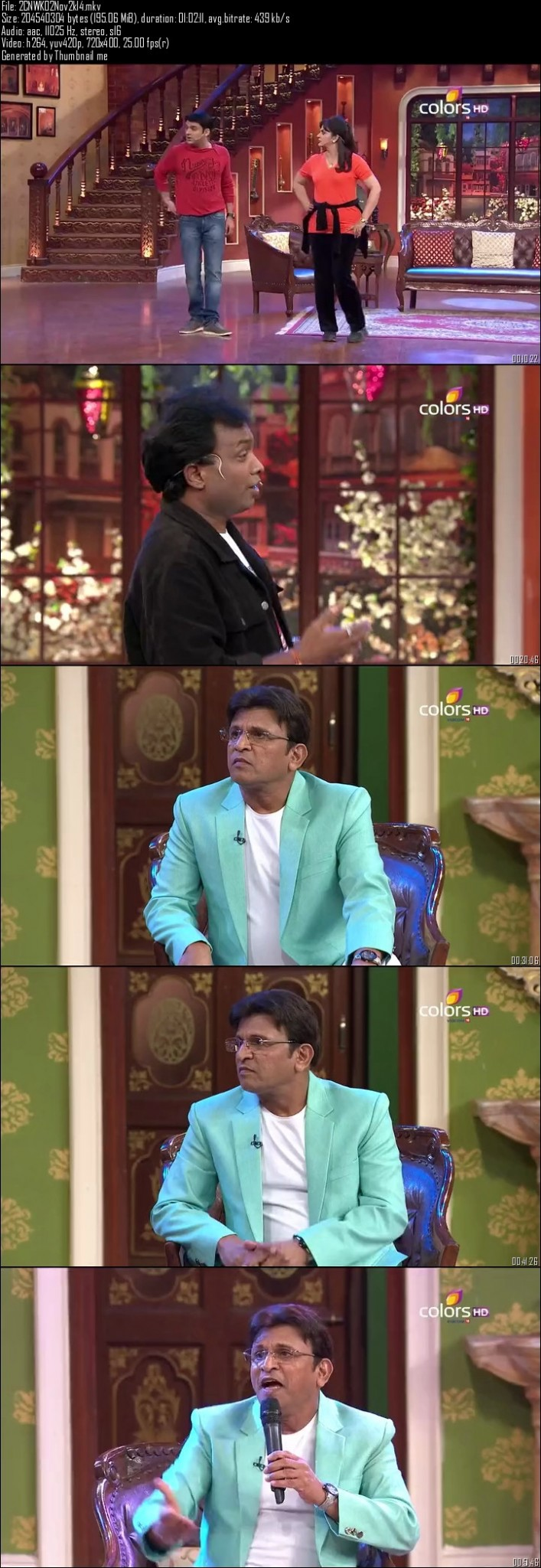 Comedy Nights With Kapil 2nd November (2014)
