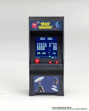 画像(008)「スペースインベーダー」と「フロッガー」がミニ筐体ゲーム「TINY ARCADE」の第2弾として登場。7月下旬に発売決定