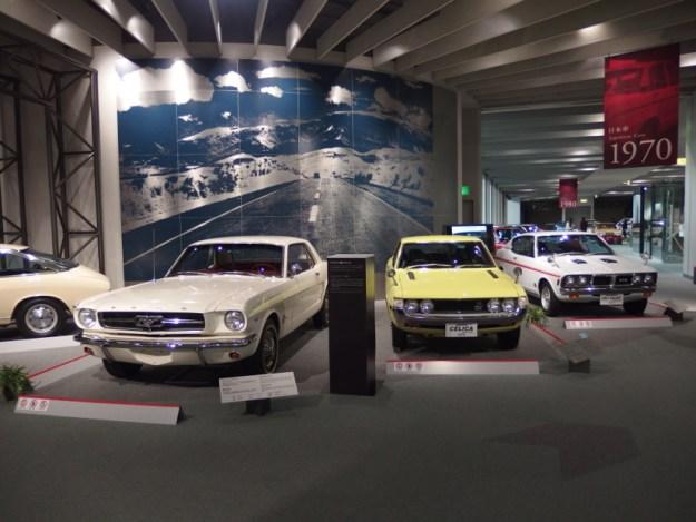 フォード マスタング&トヨタ セリカ TA22型&三菱 コルト ギャランGTO MR型