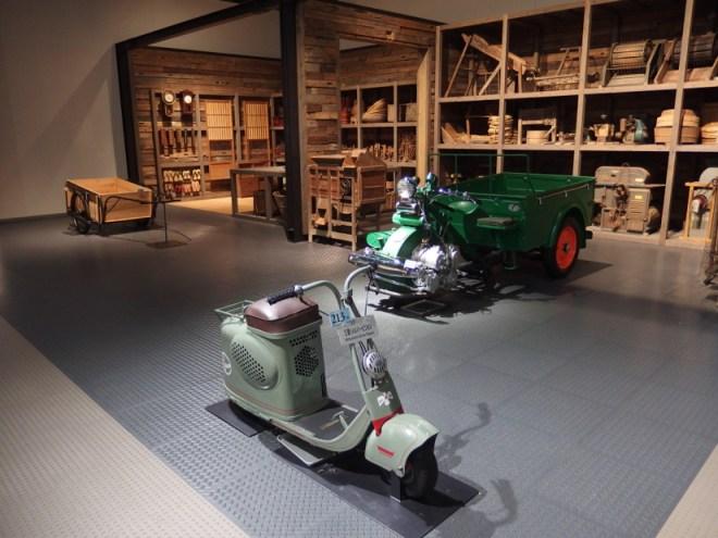 三菱 シルバーピジョン&水野式 自動三輪車