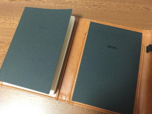 DELFONICSダイアリー+メモエンベロップ(journal pratique