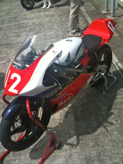 HONDA | NSF250R(藤井謙汰車)