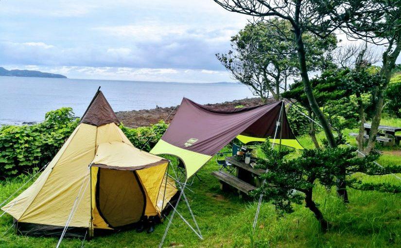 波戸岬キャンプ場までキャンプツーリングに行ってきた
