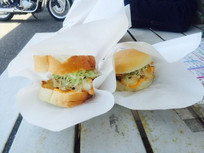 海バーガーとマジバーガー