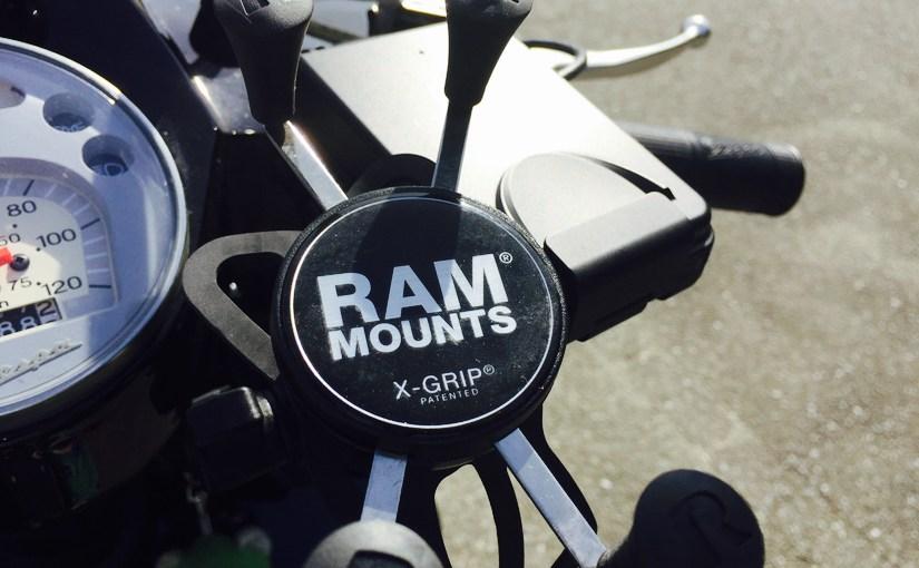 バイク乗りにおすすめ!RAM MOUNTS
