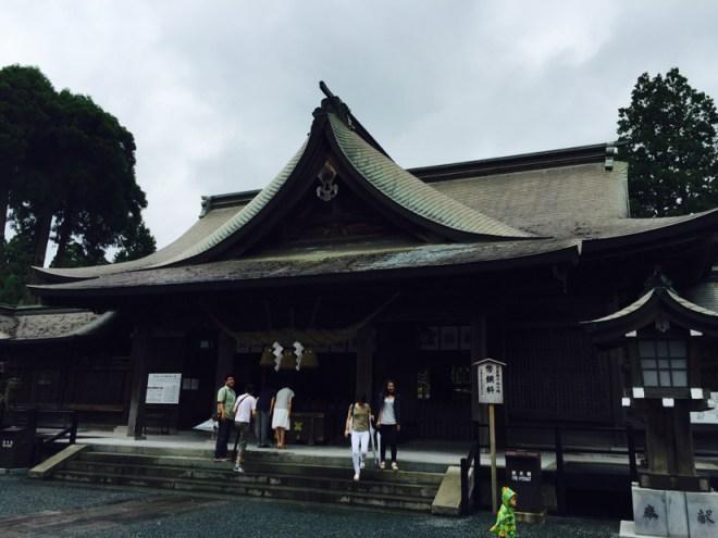 阿蘇神社 | 拝殿