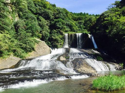 竜門の滝   九重町