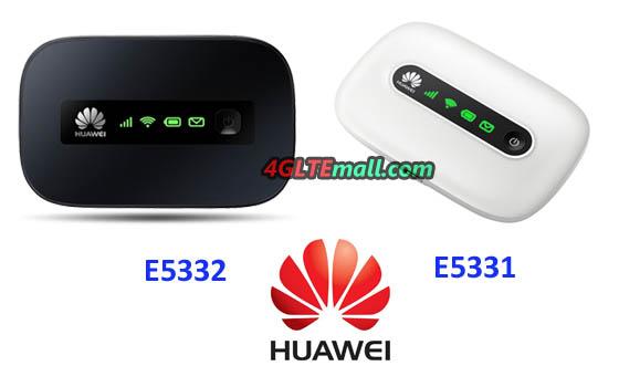 Huawei-E5331 VS HUAWEI E5332