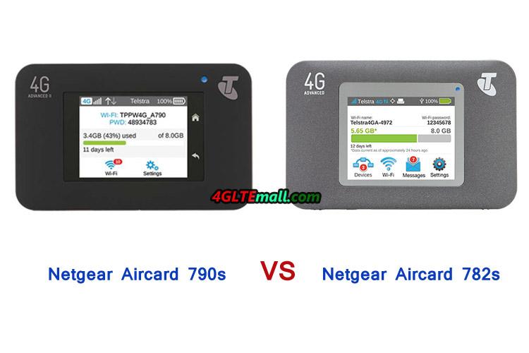 Netgear AC790S VS Aircard AC782s hotspot