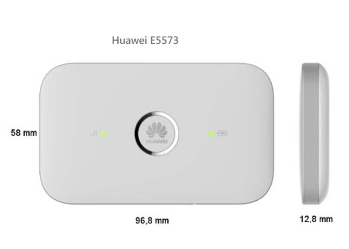 huawei E5573 MIFI SIZE