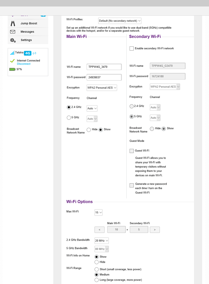 Netgear Aircard 810 web interface (3)