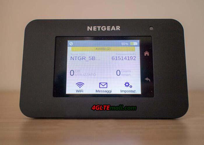 netgear aircard 790s screen