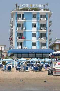 Hotel Manila 3 stelle frontemare a Jesolo Lido per tutta la famiglia