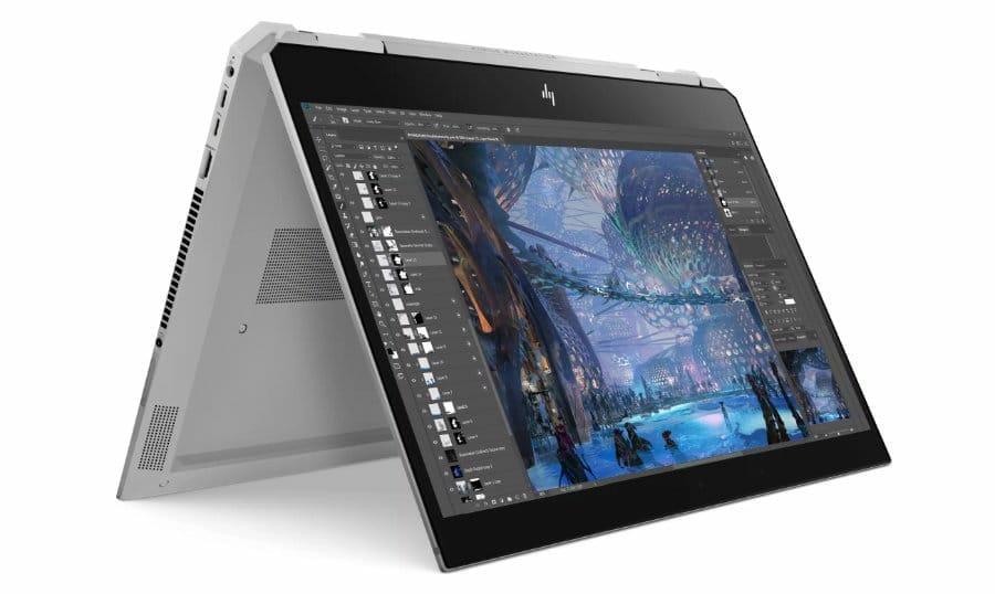 HP ZBook Studio x360 G5: Convertible mit 4K-Display für Kreative - 4K Filme
