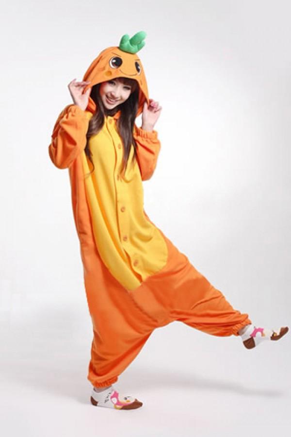 Funny Carrot Kigurumi Onesie  4kigurumicom