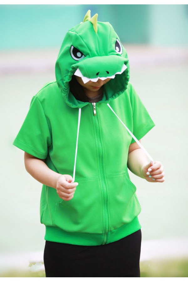 Green Dragon Animal Hoodie  4kigurumicom