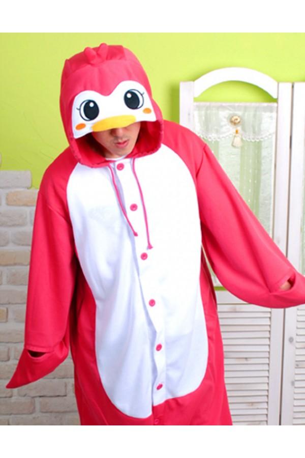 red penguin kigurumi animal