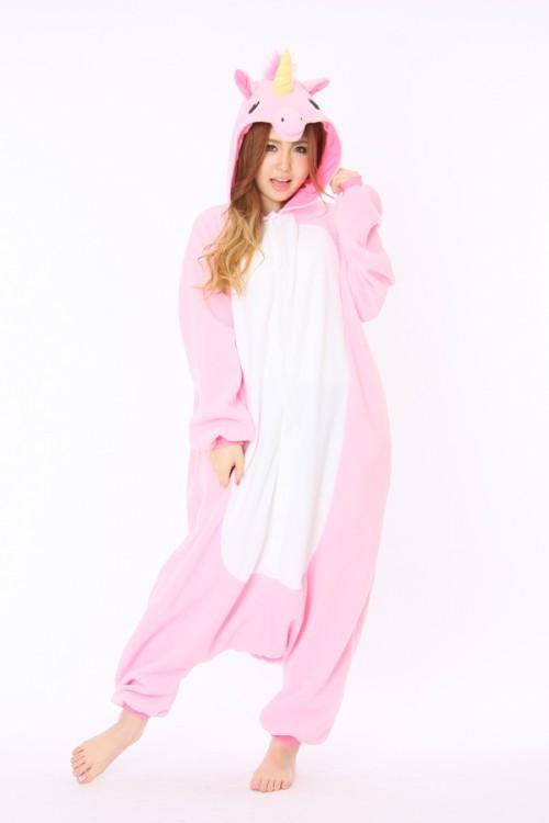 Pink Unicorn Kigurumi Animal Onesie