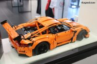 24 Heures du Mans 2016  Une Porsche 911 GT3 RS by LEGO ...