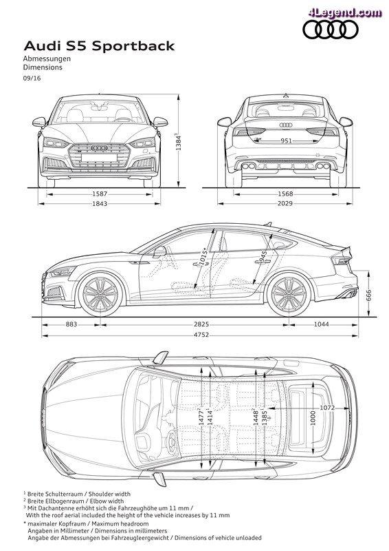 Nouvelles Audi A5 Sportback et Audi S5 Sportback 2017
