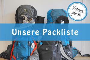 Weltreise_Packliste