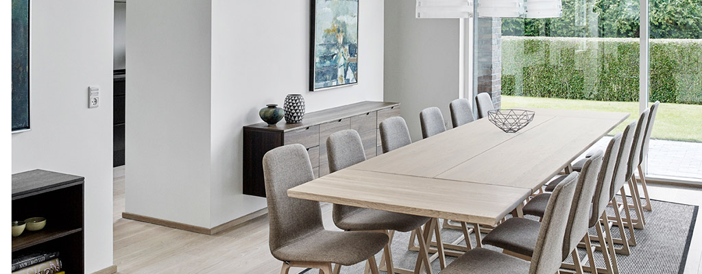 long kitchen tables ikea chairs extra dining large modern in solid wood