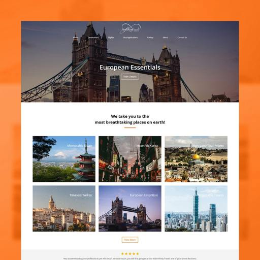 InfinityTravel Behance 00
