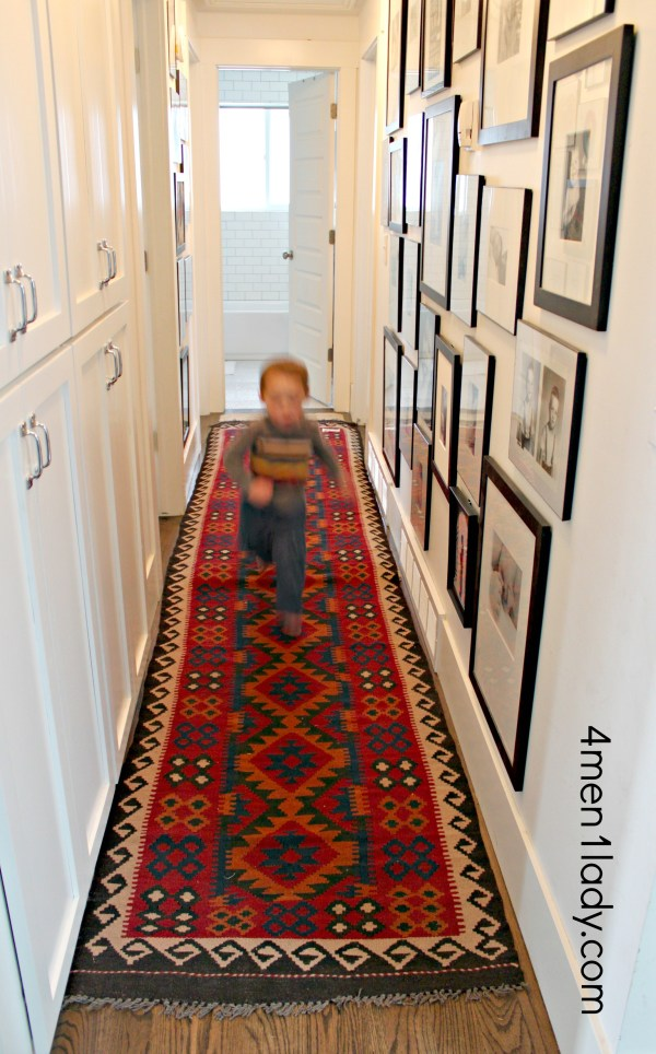 Displaying Kids Art And Hallway Addition