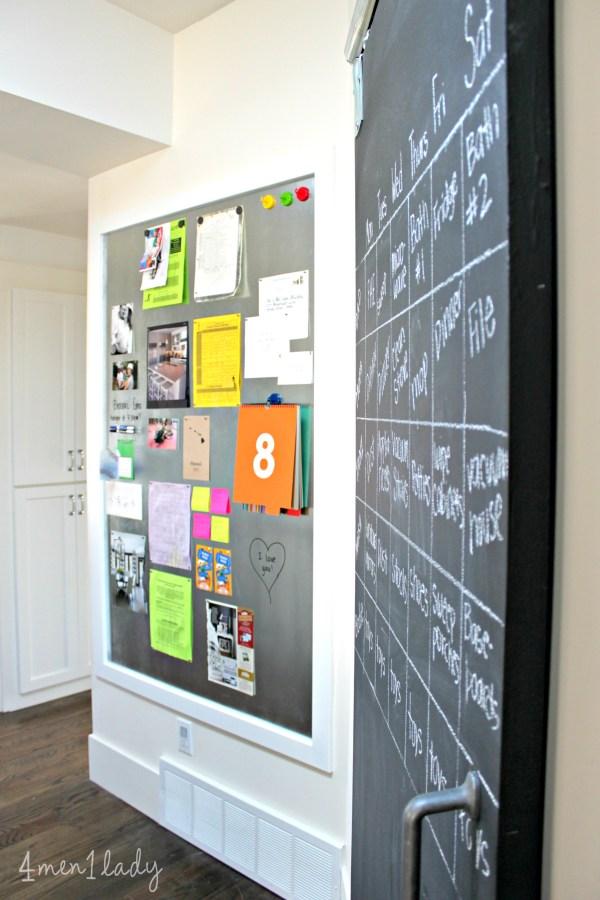 DIY Magnetic Message Board