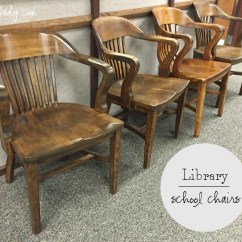Old Wood Chairs Death In Electric Chair Vintage Library