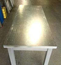 How to make galvanized steel look like zinc.