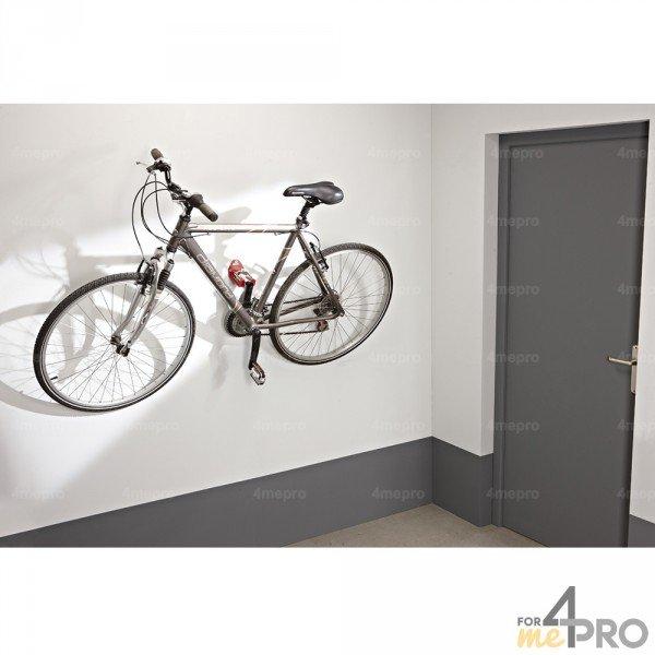 crochet velo mural avec suspension par pedale 1 velo