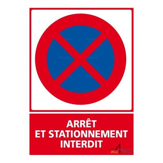 Panneau Arret Et Stationnement Interdit Avec Article R 55 3