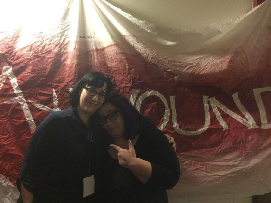 Nicole with Ax Wound Organizer Hannah
