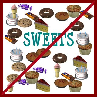 Image result for no sweets