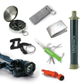 pack de supervivencia kit para actividades al aire libre