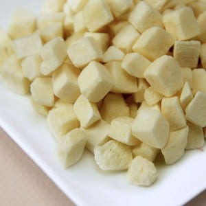 تجميد البطاطس