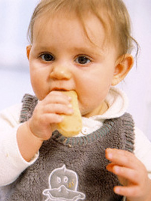 اختبار تغذية الطفل