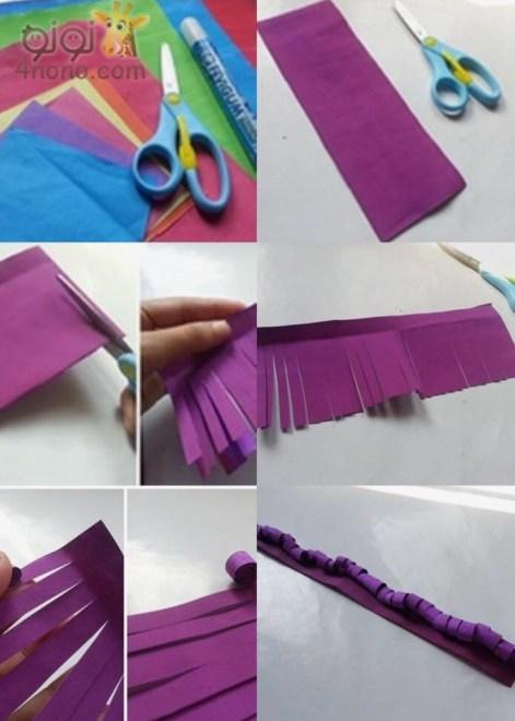 كيف تصنع اشياء من الورق
