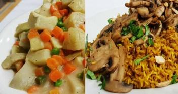 خرشوف بالبسلة وأرز بالكاري صيامي للشيف سالي فؤاد